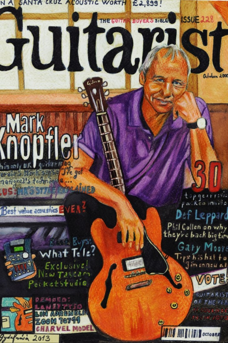 Mark Knopfler by lilie1111